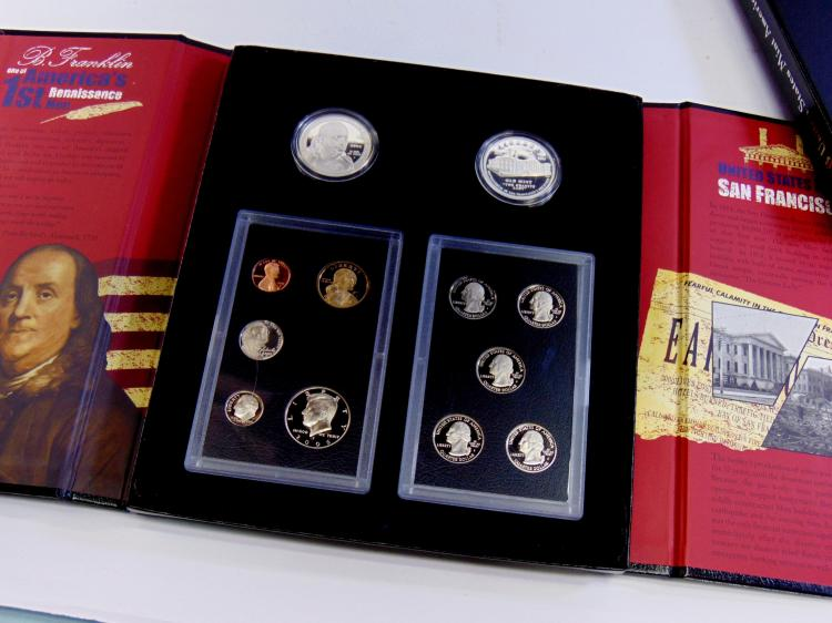 2006 US Mint American Legacy Collection Rare Complete Set