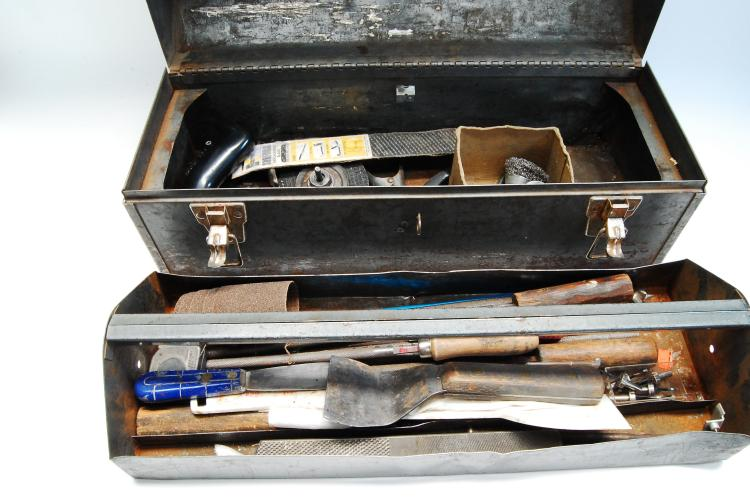 Lot 3: Craftsman Tool Box With Tools