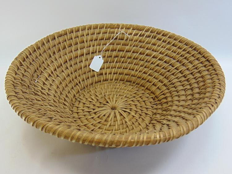 Vintage Native American Willow Basket