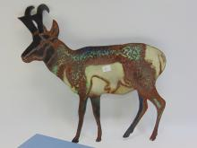 Lot 11: Pronghorn Metal Cut Out Decorative Collectible