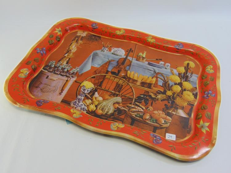 Vintage Coca-Cola Advertisement Serving Tray