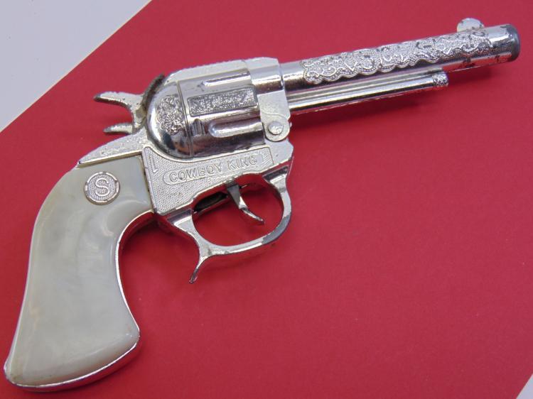 Vintage Cowboy King Toy Cap Gun