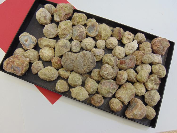 Natural Agate Thunder Egg Specimen Lot