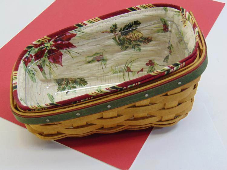 Longaberger Small Handmade Basket