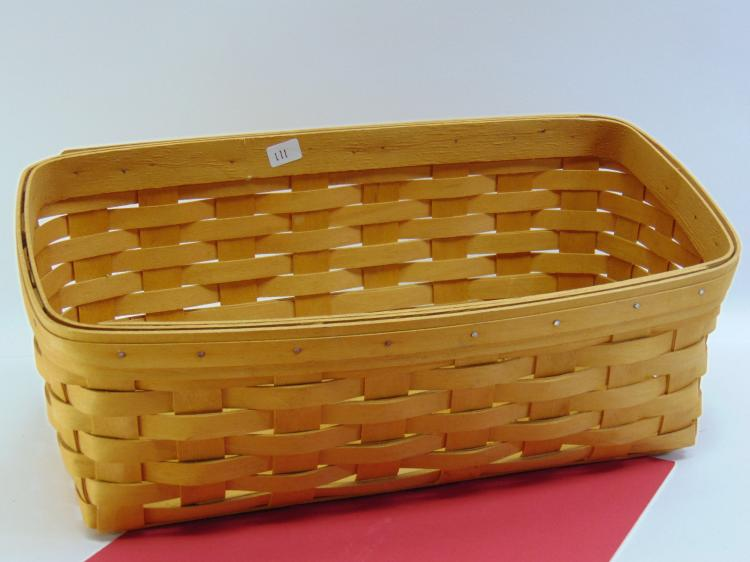 Longaberger Handmade Fruit Basket