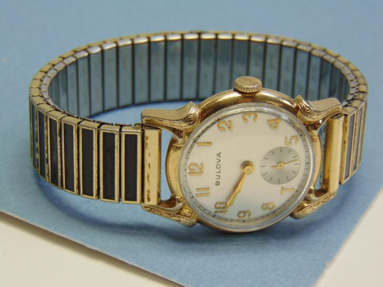 Vintage Bulova Mens Dress Watch