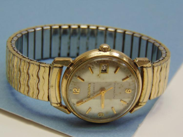 Vintage Bulova Automatic 23 Jewel Mens Dress Watch