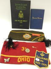 Vintage Vfw Sulgrave Masonic Manuals Commanders Hat