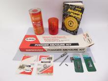 Ammo Reloading Lot Measure Kit Smokeless Powder Manual And Lee Die