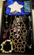 Mixed Lot Of Modern And Vintage Costume Jewelry