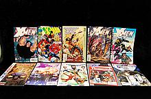 Lot Of 10 Xmen Marvel Comics 90s & 2000s
