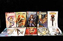 Lot Of 10 Witchblade Comics 2000s