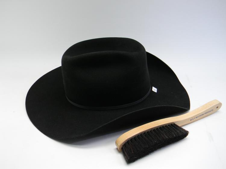 """Resistol 4XXXX Beaver Size 7 1/2"""" Felt Cowboy Hat"""