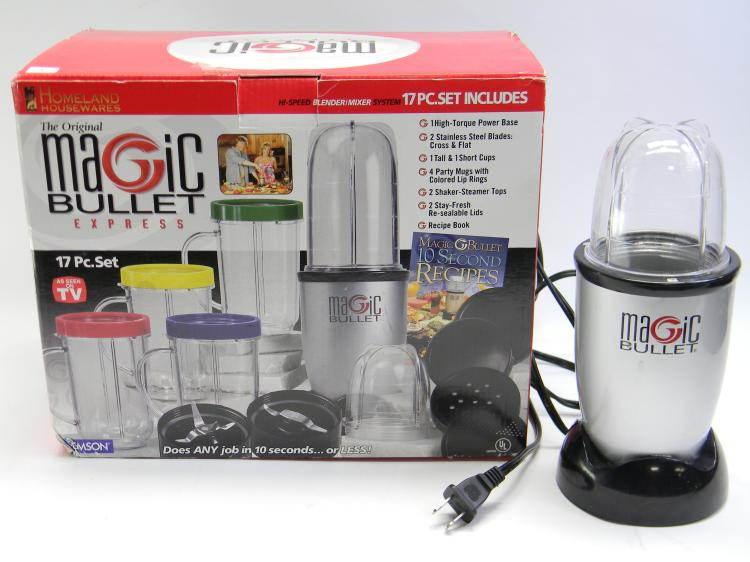 The Original Magic Bullet Express 17 Piece Set