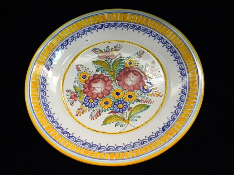 Czechoslovakia Handpainted Decorative Plate