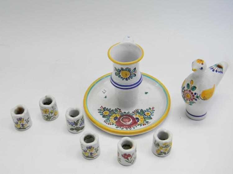 Czechoslovakia Handpainted Decorative Items Lot