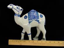 Lot 23: Vintage Ceramic Handpainted Camel Figurine
