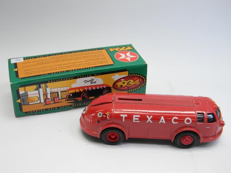 "ERTL1934 Texaco ""Doodle Bug"" Tanker Truck Bank"