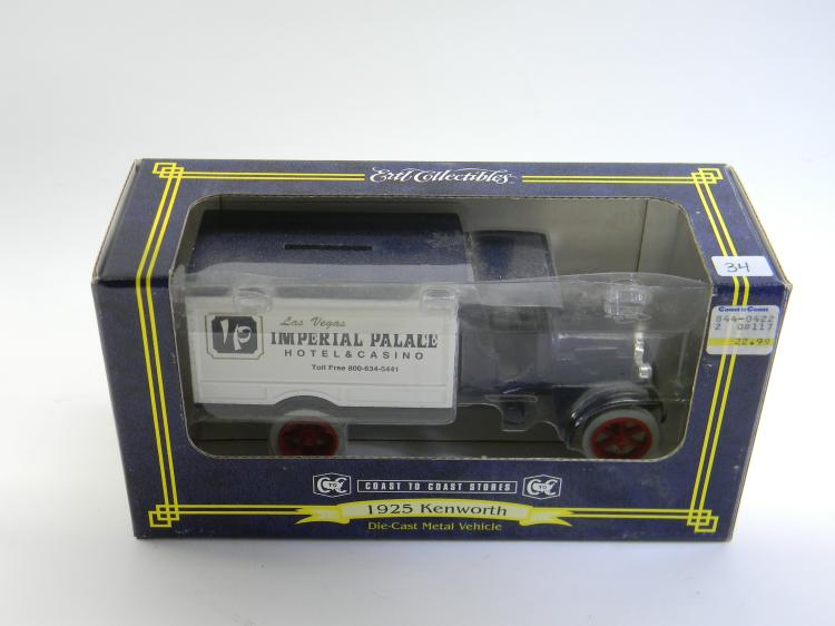 1/34 ERTL 1925 Kenworth Delivery Truck Coin Bank