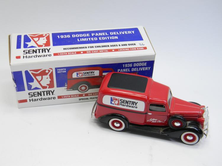 1/25 Liberty Classics 1936 Dodge Truck Coin Bank