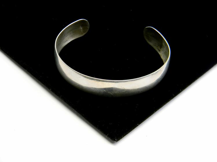 12g Sterling Silver Ladies Cuff Bracelet