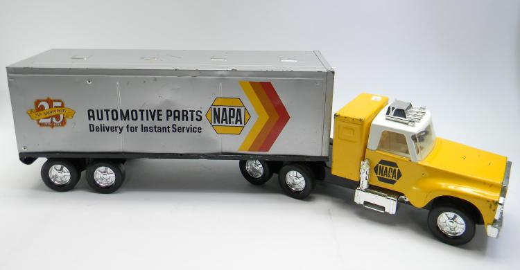"Vintage ""First Gear"" Napa Semi Truck W/ Trailer"