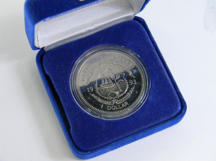 """Nolan Ryan"" Republic Of Liberia 1 Dollar Coin"