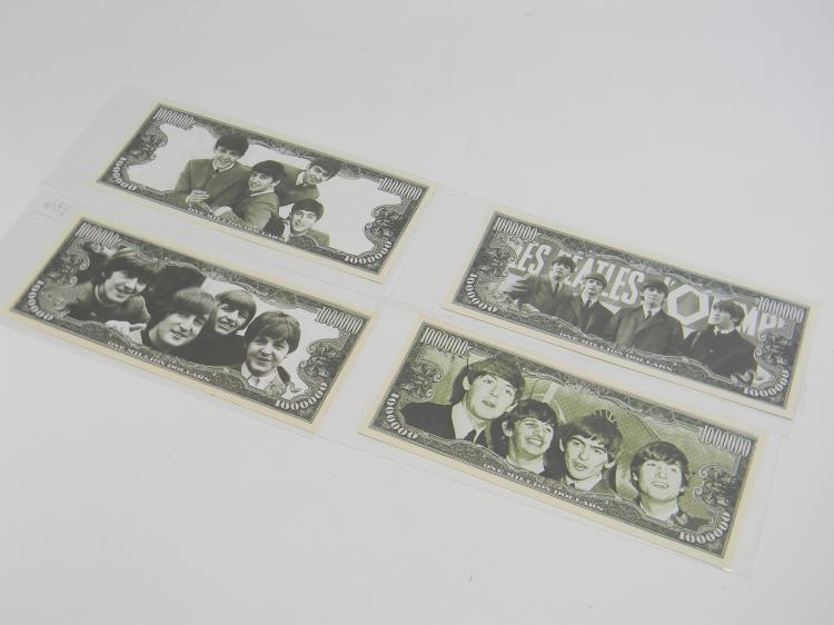 "$1,000,000 ""Legends"" The Beatles Bills Lot"