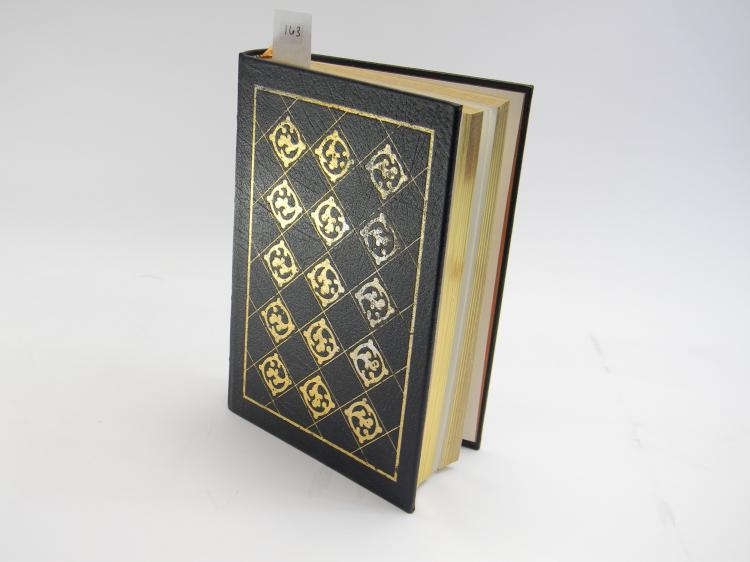 "Leather Bound ""The Life Of Abraham Lincoln"" Book"