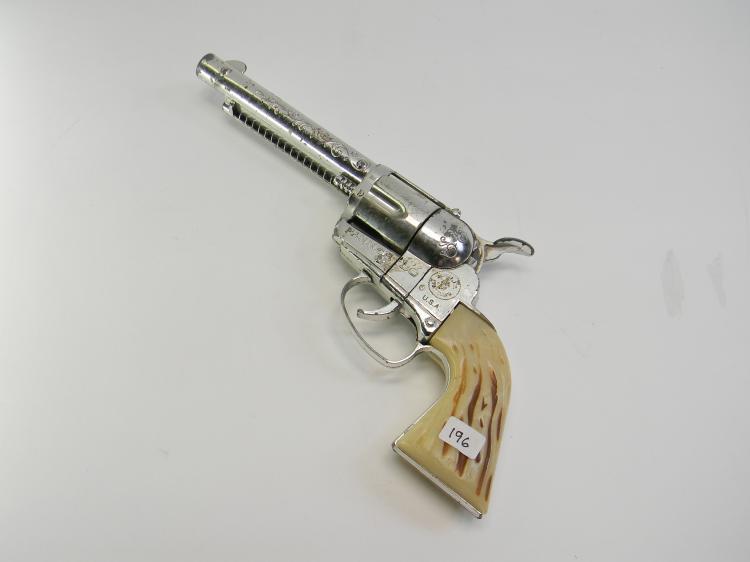 """Vintage Mattel """"Fanner 50"""" Toy Cap Gun"""