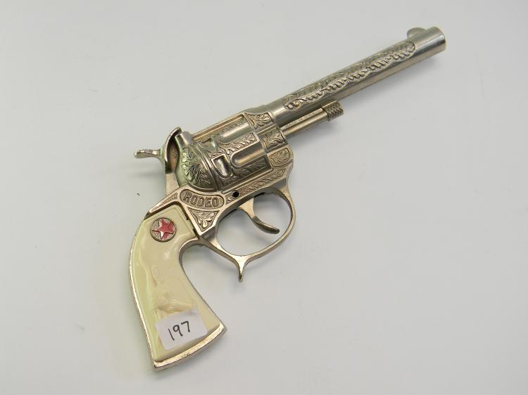 "Vintage US Made ""Rodeo"" Toy Cap Gun"