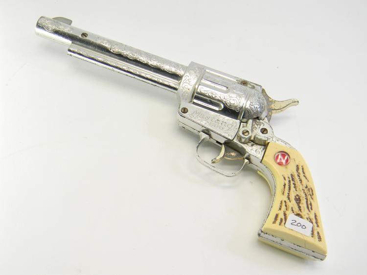 """Vintage Nichols """"Mustang 500"""" Toy Cap Gun"""