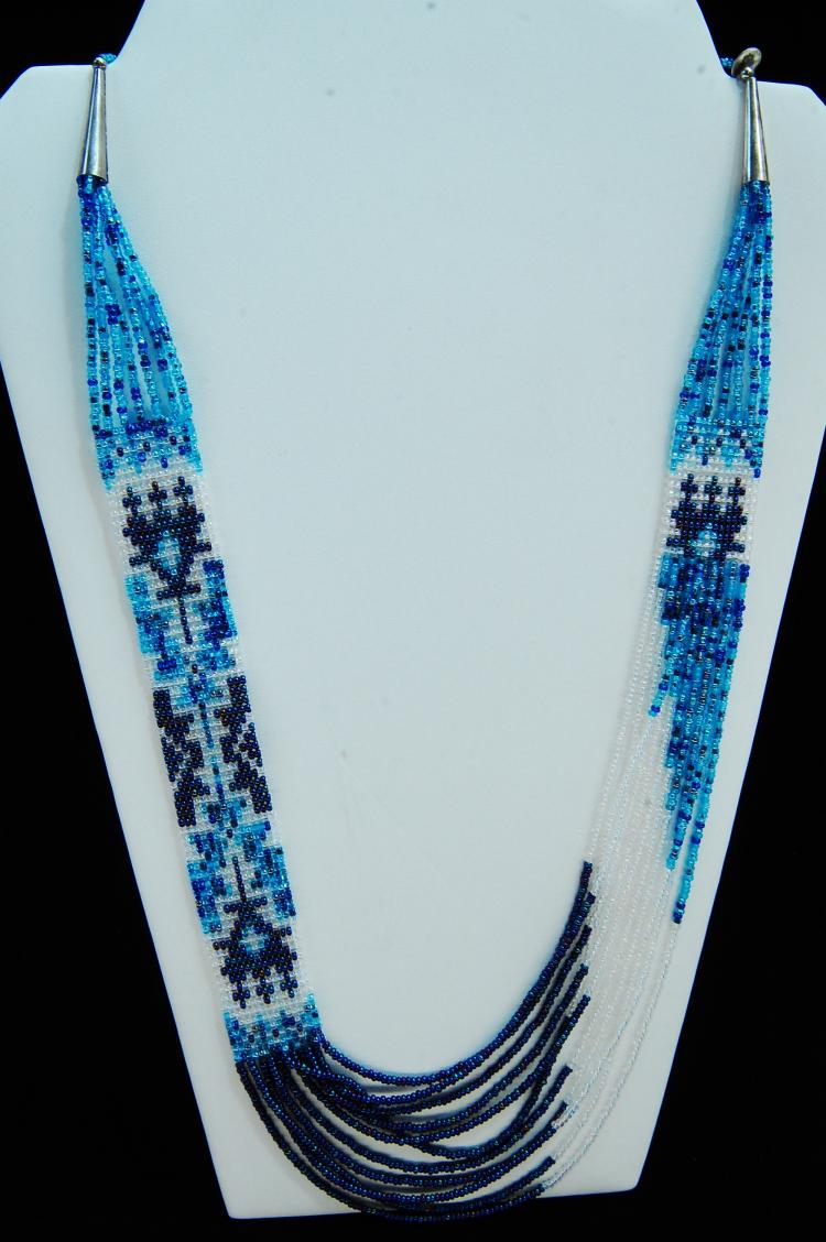Native American Navajo Handcrafted Seed Bead Necklace