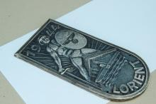 Lot 153: 1944 WWII Nazi Lorient Arm Badge