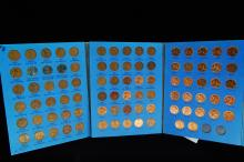 Lot 105A: 1941-74S Lincoln Head Cent US Coin Folder #2