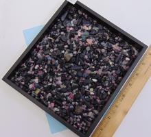 Lot 12: Natural Tumbled Tourmaline Specimen Pebble Lot