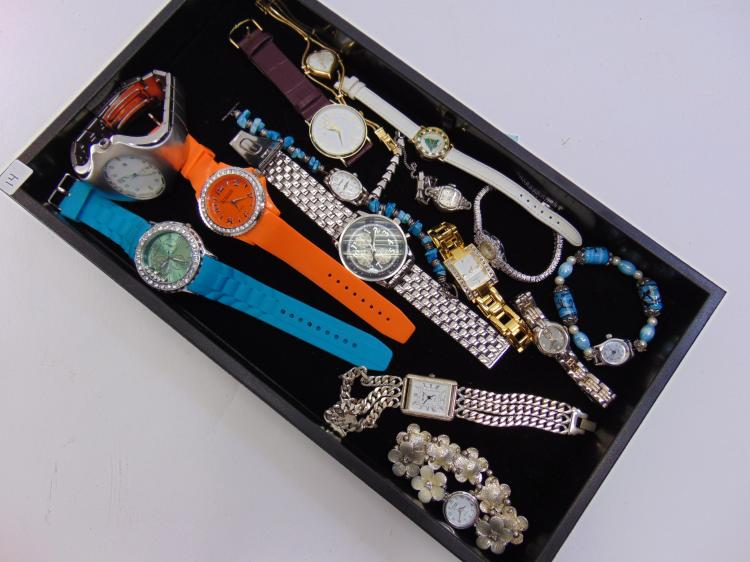 Assorted Mens & Womens Watch Lot Of 15
