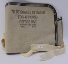Lot 16: Unused Canvas Car Radiator Water Bag