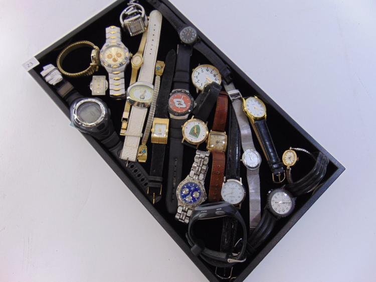Lot 23: Assorted Mens & Womens Watch Lot Of 21