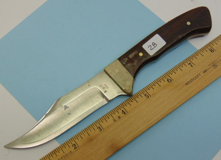 Lot 28: Rigid US Made Fixed Blade Knife
