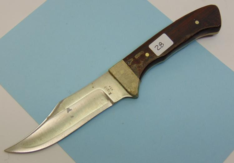 Rigid US Made Fixed Blade Knife
