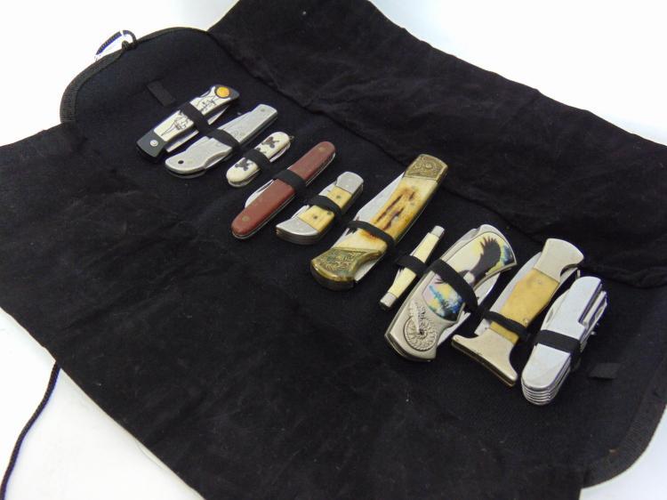 Swiss Case Imperial & Frost Cutlery Knife Lot