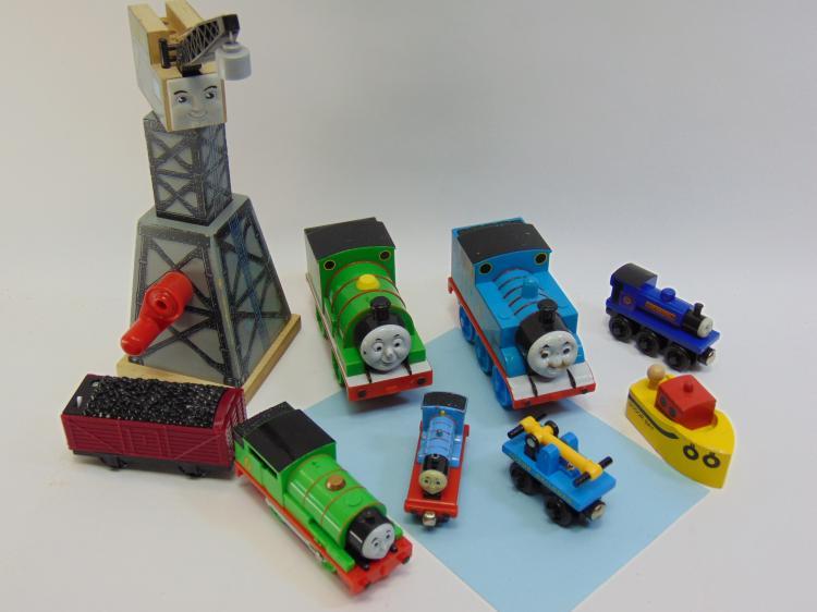 Thomas The Train Kids Toy Train Set Lot Of 10