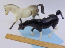 Lot 42: Vintage Breyer Plastic Toy Horse Lot Of 2