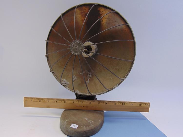 Lot 75: Vintage Kwik-Way Electric Radiant Dish Heater