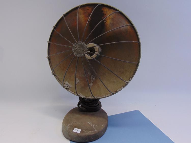Vintage Kwik-Way Electric Radiant Dish Heater