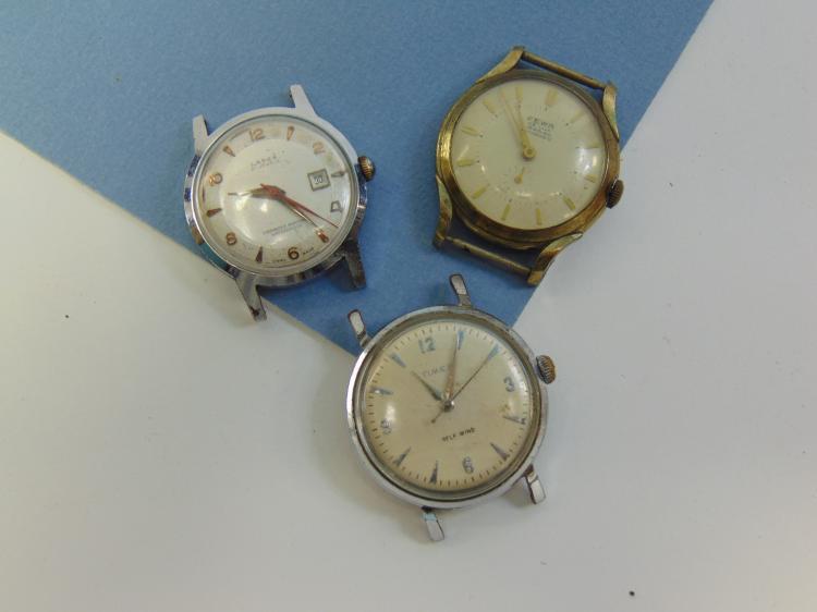 Vintage Larex Fewa & Timex Jeweled Watch Lot Of 3