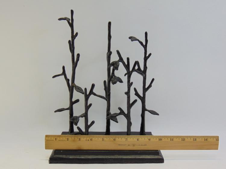 Lot 103: Vintage Metal Jewelry Tree