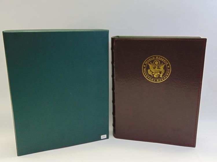 Lot 119: New World Reserve Monetary Exchange Album