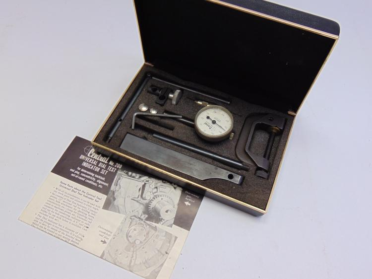 Central #200 Universal Dial Test Indicator Set